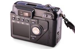 Panel de control de la cámara digital compacta fotografía de archivo libre de regalías