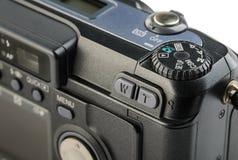 Panel de control de la cámara digital compacta foto de archivo