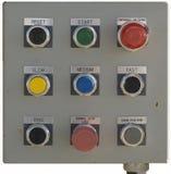 Panel de control de la tranvía Foto de archivo libre de regalías