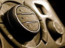 Panel de control del clima auto Fotos de archivo