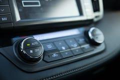 Panel de control del coche Foto de archivo libre de regalías