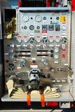 Panel de control del coche de bomberos Imagen de archivo