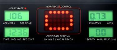 Panel de control del ritmo cardíaco Foto de archivo