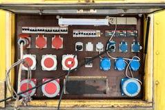 Panel de control eléctrico Fotografía de archivo
