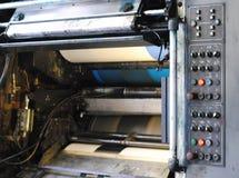 Panel de control en la tipografía Imagen de archivo libre de regalías