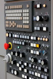 Panel de control moderno del CNC Foto de archivo