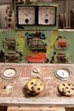 Panel de control oxidado Fotografía de archivo libre de regalías