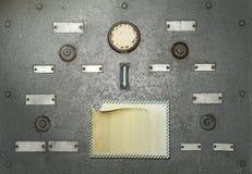 Panel de control quebrado Foto de archivo libre de regalías