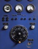 Panel de control viejo Fotografía de archivo libre de regalías