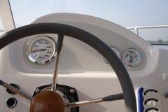 Panel de instrumentos de del barco Imagenes de archivo