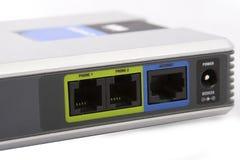 Panel des VoIP Adapters Stockbilder