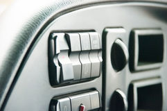 The panel of devices of the car Royalty Free Stock Photo