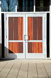 Panel Doors Stock Photography