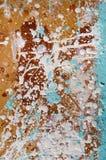 Panel duro manchado con la pintura para la reparación abctract Visión vertical Imagen de archivo
