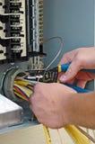 panel elektryczny Obraz Stock