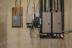 panel elektryczny zdjęcia royalty free