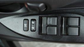Panel för bildörr i Toyota Yaris ecobil Royaltyfria Bilder