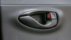 Panel för bildörr i Toyota Yaris ecobil Royaltyfri Foto