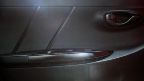 Panel för bildörr i Toyota Yaris ecobil Arkivbild