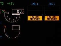 panel för digitalt instrument Royaltyfria Foton