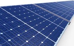 Panel för sol- cell Arkivbild