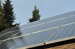 Panel 6 för sol- samlare Royaltyfri Fotografi