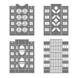 Panel houses set3 Royalty Free Stock Photo