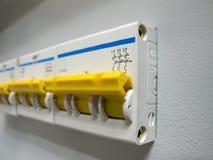 panel kontrolna nowa władza Zdjęcia Stock