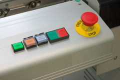 panel kontrolny Fotografia Stock