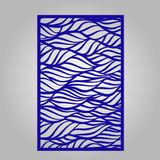 Panel for laser cutting. Royalty Free Stock Photo