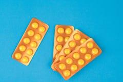 Panel lek kapsuły Zdjęcia Stock