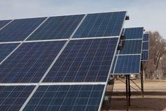panel parkują słonecznego obrazy royalty free
