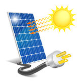 Panel photovoltaic Royalty Free Stock Photo