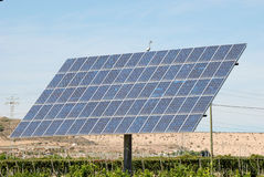 panel plantacji słoneczna Obrazy Stock