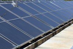 Panel słoneczny dla energetyczny zbierać Obraz Royalty Free