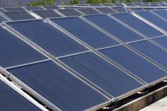 Panel słoneczny dla energetyczny zbierać Obraz Stock