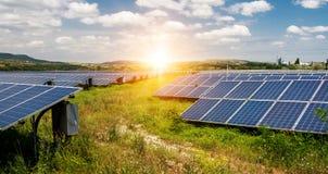 Panel słoneczny, photovoltaic, alternatywny elektryczności źródło, zdjęcia stock