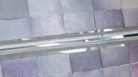 Panel słoneczny satelita zdjęcie wideo