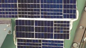 Panel słoneczny satelita zbiory wideo
