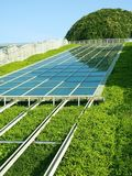 Panel Słoneczny. Obrazy Royalty Free