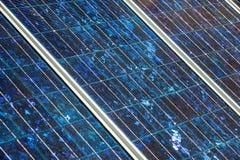 Panel słoneczny na foor Fotografia Royalty Free