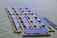 Panel słoneczny stacja Obraz Royalty Free