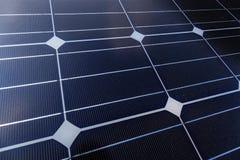 Panel Słoneczny w Horyzontalnym Fotografia Royalty Free