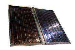 panel sol- royaltyfri bild