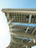 panel sol- ström Royaltyfri Bild