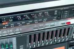 Panel starog audio recorders Stock Photos