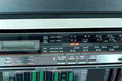 Panel starog audio recorders Royalty Free Stock Photo