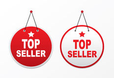 Panel with text - top seller Stock Photography