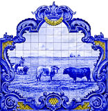 Panel tiles in Vila Franca de Xira Royalty Free Stock Image