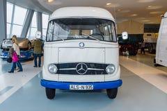 Panel van Mercedes-Benz L406, 1965 Stock Images